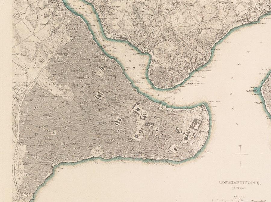 Eski İstanbul Haritası